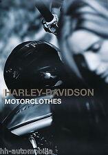 Harley-Davidson Motorclothes Prospekt 2002 brochure Broschüre Motorrad Amerika