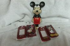 Mickey & Minnie Cell Phone Covers & Mickey Avon Bubble Bath Figure