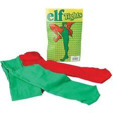 Déguisement Elfe Collant Noël Red & Vert - Taille Unique Adultes