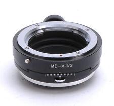 Minolta MD Lens PC Adapter For M4/3 Olympus E-P1 E-P2 E-PL1 Panasonic GH2 GF2