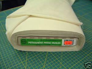 Permanent Press Calico 100% Cotton Unbleached Preshrunk