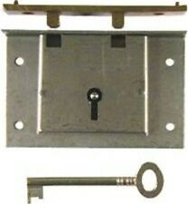 Chest Lock - Half Mortise - Steel  & Brass   M1806