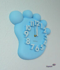 Design Wanduhr, Bürouhr, Küchenuhr wall-clock (MX1148-Blau)