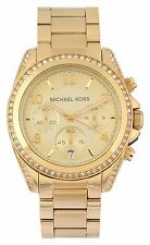 Michael Kors MK5166 Blair Gold Chronograph Watch - 2 year Manufacturer warranty