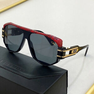 Cazal 163/3 Sunglasses 163 1/2-Leather Color 701 Black Gold Authentic New