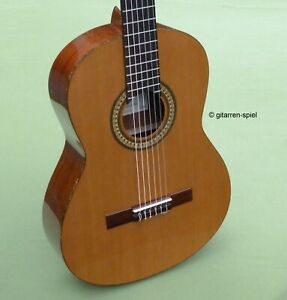 Edle 4/4 Spanische Konzert-Gitarre Manuel Rodriguez Caballero 9 - 1A Zustand Top