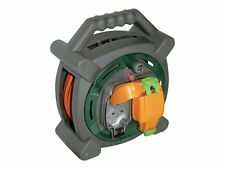 Masterplug 20m Outdoor Cable 13a Extension Case Reel With 2 Weatherproof Sockets