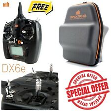 Spektrum SPMR6650 DX6e 6-Channel DSMX Transmitter Only w/ FREE Carrying Bag