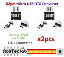 2pcs Mini USB 2.0 Micro USB OTG Converter Adapter for PC Tablet Android
