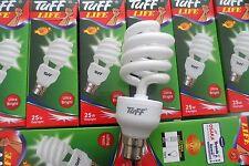 ENERGY SAVING LIGHT BULBS BC B22 EXTRA BRIGHT, COOL DAYLIGHT Genuine tuff