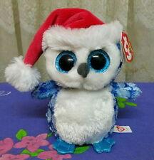 *Ty Beanie Boos ~ ICICLES the blue OWL 15cm *