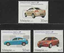 MALAYSIA 2005 PROTON CAR GEN 2 - NEW GENERATION SET FRESH MNH