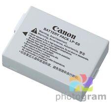 Battery for Canon Rebel T2i T3i T4i T5i EOS 550D 600D 650D 700D X5 X6i X7i LP-E8
