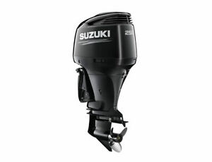 NEW SUZUKI DF250APX LONG SHAFT OUTBOARD MOTOR BOAT ENGINE