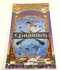 Harry Potter Quidditch Nimbus 2000 Metal Tin 3d Sign New Old Stock