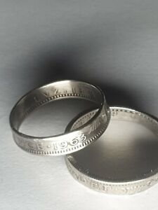 Coin Ring  - Crafted from British Sixpence 1963 ask for your ring size