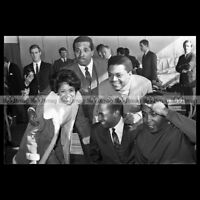 #phs.005546 Photo NANCY WILSON & THE FOUR TOPS 1968 Star