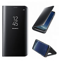 Original Samsung Galaxy S8 Clear View Case Cover EF-ZG950 Schutzhülle schwarz