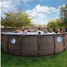 """New Coleman Power Steel Swim Vista Ii 18' x 48"""" Frame Pool Set FastshiporDeliver"""