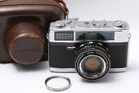 MINOLTA AL 35mm Film Rangefinder w/ Filter Case Exc+5 JAPAN 200996