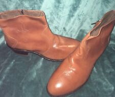Hytest Brown leather Steel-toe Boots Size 9 Men's NWOB