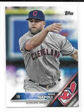 2016 Topps #595 Mike Napoli Cleveland Indians