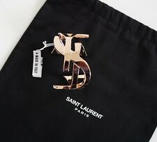 New Authentic SAINT LAURENT Paris ICONIC YSL MONOGRAM Rose Gold-Tone Bracelet L