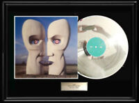 PINK FLOYD DIVISION BELL WHITE GOLD SILVER PLATINUM TONE RECORD LP