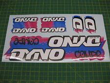 Set di Dyno compe bmx adesivi
