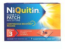 2x NiQuitin CQ CleaR Step 3, 7 mg, 7 Patches