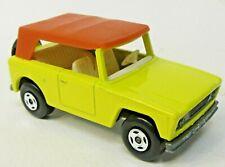 Matchbox Superfast #18 FIELD CAR yellow diecast high grade