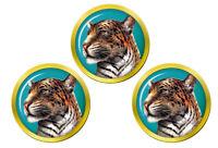 Leopard's Tête Marqueurs de Balles de Golf