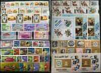 Worldwide Stamp Lots: Umm Al Qiwain MNH - 2 Album Pages of Different Full Sets
