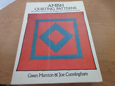 AMISH QUILTING PATTERNS~56 Full Size Ready to Use Designs & Instructions