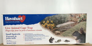 Havahart Live Animal Cage Trap Model 1025 Small Squirrel Rat Weasel Chipmunk Rat
