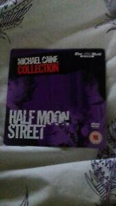 HALF MOON STREET MICHAEL CAINE SIGOURNEY WEAVER Newspaper Promo DVD...vgc