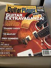 guitar player magazine May 2007