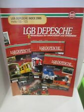 LGB DEPESCHE INDEX 2005 Hefte 120 - 123