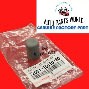 GENUINE TOYOTA 03-09 4RUNNER STONE REAR SEAT BACK RELEASE BUTTON 72661-35010-B0