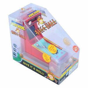 World's Smallest Boardwalk Arcade * SKEE-BALL * Mini Retro Video Game Machine