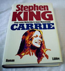 Stephen King - Carrie - gebundene Ausgabe Lübbe neuwertig