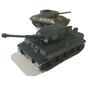 SOLIDO METAL GERMAN WWII TANK CHAR TIGRE NO. 222 12/1969 MADE IN FRANCE 1:50