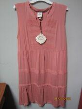 Knox Rose Women's Sleeveless Blushing Pink Dress Size XXL