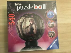 Brand New Sealed Made in Germany 540 piece 9 inch GOTHIC PUZZLEBALL Ravensburger