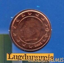 Belgique 2001 5 centime d'euro FDC BU provenant coffret BU 40000 exemplaires Bel