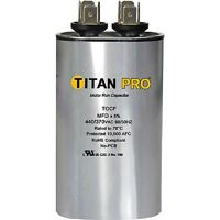 Titan TOCF10 440/370V 10 MFD Dual Rated Oval Run Capacitor - New
