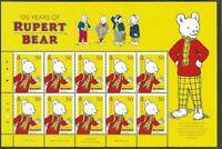 Rupert Bear 100 years anniv One special sheet 2020(pre-order see below) mnh