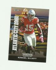 2016 LEAF NSCC EXCLUSIVE WHITE VERSION DALLAS COWBOYS EZEKIEL ELLIOTT RC NM-MT
