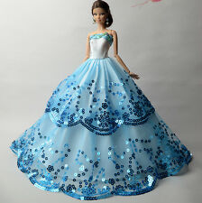 Fashion Royalty Princess Dress/Clothes/Gown For Barbie Doll S510