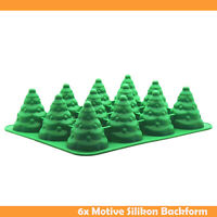Silikon Backform Weihnachten Tannenbaum 3D groß Christmas Backen Deko Christbaum
